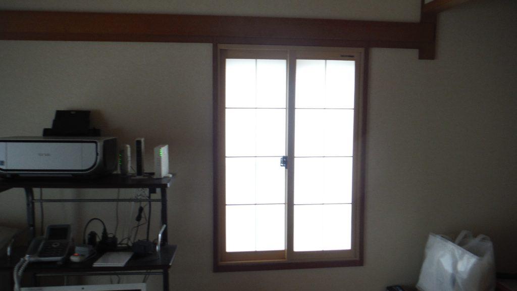 和室小窓プラマード完成